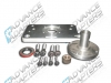 712528 : Chevy V8 / 4.3L to Jeep CJs T-18 4 speed manual transmission, adapter kit.